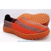 Handmade weave shoes