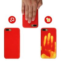 Cool Fashion Temperature Heat Sense Shell Color Changing Cell Phone Case