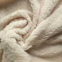 100% polyester sherpa fleece fabric for winter coat