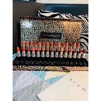 Popular mac Lip Makeup Matte lipstick 30 color black tube matte lipstick 4pcs set free shipping