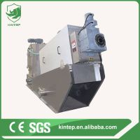 cosmetics factory wastewater sludge dewatering machine