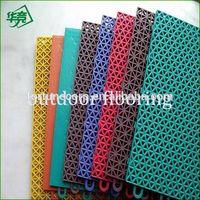 PVC Vinyl/Plastic Basketball Outdoor Interlock Sports Flooring