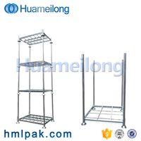 China heavy duty adjustable warehouse storage galvanized steel metal stacking pallet rack thumbnail image