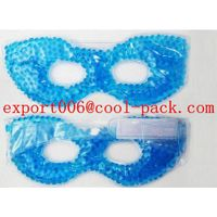 gel beads fashion eye mask for hot and cold compress