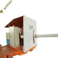 Professional team slag stopping machine export to Japan, refractory dart dispatching machine