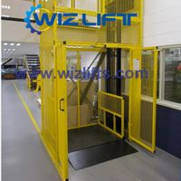 WIZ Hydraulic Cargo Lift with Safety Enclosure