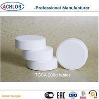 chlorinetablet90% 200g swimming pool chemicals