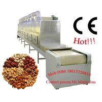 cashew nuts tunnel microwave roasting machine