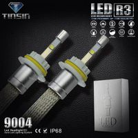 2015 new products C.ree xhp-50 chips led Hi/lo beam 9007 9004 led headlights