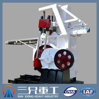 high productivity high density cement brick making machine