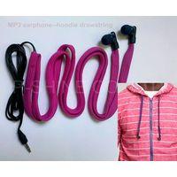 2013 new washable headphones waterproof earphones woven belt headphoneshoodie thumbnail image