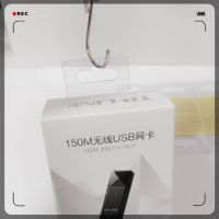 Plastic self-adhesive hang tab thumbnail image