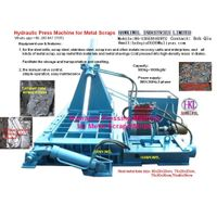 hydraulic baler machine/press thumbnail image