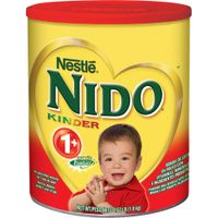 Arabic and English Text Red Cap Nestle Nido Milk