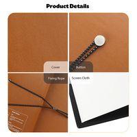 20 inch 4:3 Creative Book Projection Screen Mini Foldable Projector Screen - Orange Salmon thumbnail image