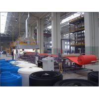 XPE chemical cross-linking foam sheet production line