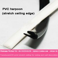 used for pvc stretch ceiling film edge pvc harpoon