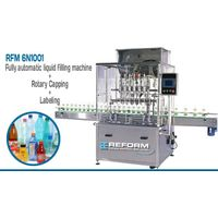 Liquid Filling, Capping And Labelling Machine