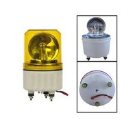 DC12V LTE-1081J rotating beacon warning lights 24v buzzer Bulb light screw fixing