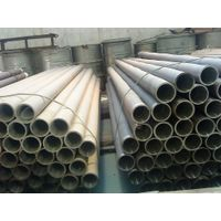 Titanium alloy lined pipe