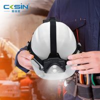 4G industrial safety helmet full HD 1080P camera and Mining fire engineering with GPS tracking thumbnail image