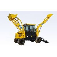 New cheap backhoe loader with 0.9m3 rated bucket capacity SZ40-16
