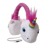 Animalz Tangle-free, Volume Limiting (85 Db) Over Ear Headphones for Kids