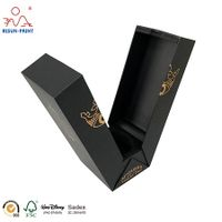cheap custom printed cardboard paper wine bottle storage packaging gift box for wine thumbnail image