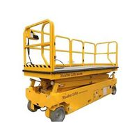 Warehouse work light full automatic scissor lift elevator