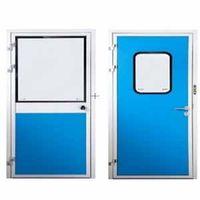 Color Plate Steel Door Cleanroom Panels Cleanroom Supply