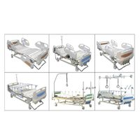 Five Functions Manual ICU Hospital Bed LK2009-5L