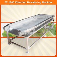 FT-1800 vegetable vibration shaking dewatering machine