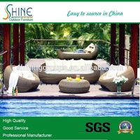 Low Price Outdoor Rattan Sofa Set ZX229