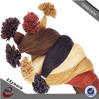 2015 New Arrival European Pre-bonded Hair U-Tip/ Nail Hair Extensions