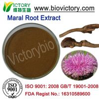 Rhaponticum carthamoides P.E. Maral root extract