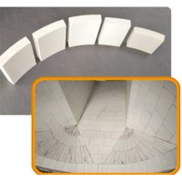 Special Wear - Resistant Ceramic Lining Plate for Cyclone