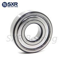 China Brand SXR Chrome Steel Gcr15 Black Edges Black Corners Deep Groove Ball Bearing 6209 2RS thumbnail image