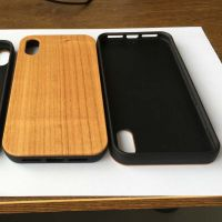 New Product Real Bamboo Wood Mobile Phones Cover Case for iPhone XS Max and samsung thumbnail image