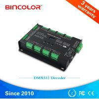 BC-632 Digital Display RDM Support 32 channels RGB RGBW DMX to PWM LED DMX512 Decoder