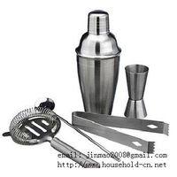 Cocktail Set, Wine shaker, Ice bucket,Wine flask, Bar compass, Bottle stopper, Wine bottle rack&#652 thumbnail image