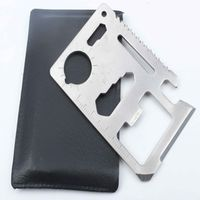 ETD Metal Stainless Steel Multi Tool Wallet Credit Business Survival Card