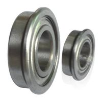 Double Shielded Flanged Ball Bearings FR8ZZ Bearings Inch Flange