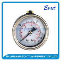 Central Back Connection Oil Pressure Gauge