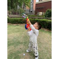 Hot sale summer outdoor toys 2 in 1 bubble gun with water gun for kids beach toys thumbnail image
