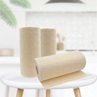 Chinese Professional Paper Supplier Durable Using Bamboo Pulp Kitchen Roll Paper thumbnail image