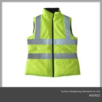 Hi-Vis Vest Safety Reversibile Bodywarmer