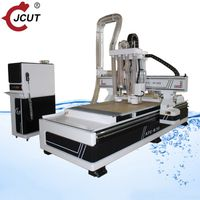 Linear atc wood cnc router machine with Saw blade R30