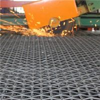lock types woven wire screen crimped wire mesh