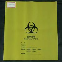 Disposable hospital medical waste bag