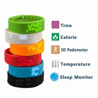 W2 LED Digital Sports USB Smart Watch